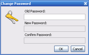 ADL Password Dialog