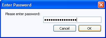 FileOff Password Dialog: